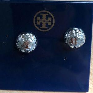 Tory Burch silver earrings